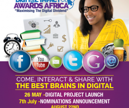 Nominees for Digital Impact Awards Africa