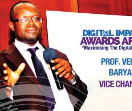 Prof. Venansius Baryamureeba to Speak at the 2nd Digital Impact Awards Africa