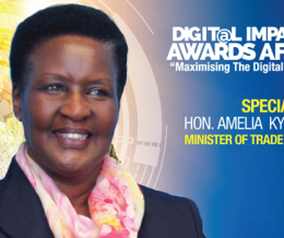 Hon Amelia Kyambadde will be special guest at the 2nd Digital Impact Awards Africa