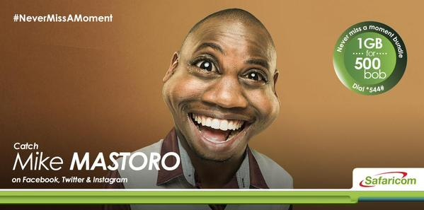 Safaricom Never Miss a Moment