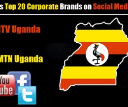 2012 – NTV Uganda Tops List of Uganda Top 20 Corporate Brands on Social Media
