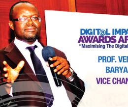 Prof. Venansius Baryamureeba to Speak at the 2nd Digital Impact Awards Africa